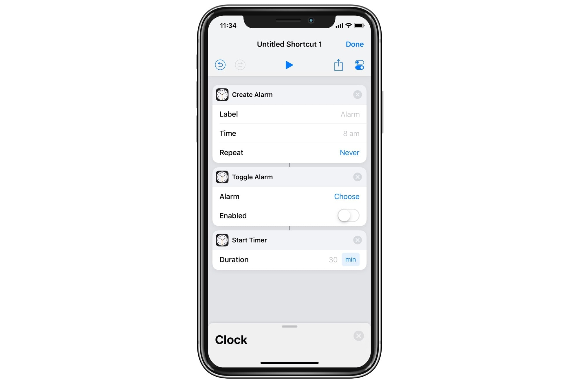 These new alarm actions allow for some powerful workflows.