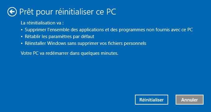 Arranque de reinstalación de Windows 10