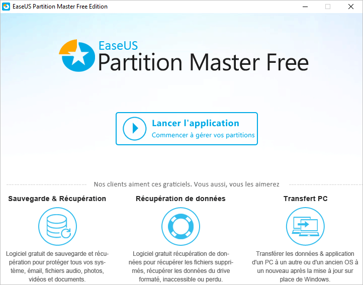 limpie su disco duro con el software EaseUS Partition Master 1