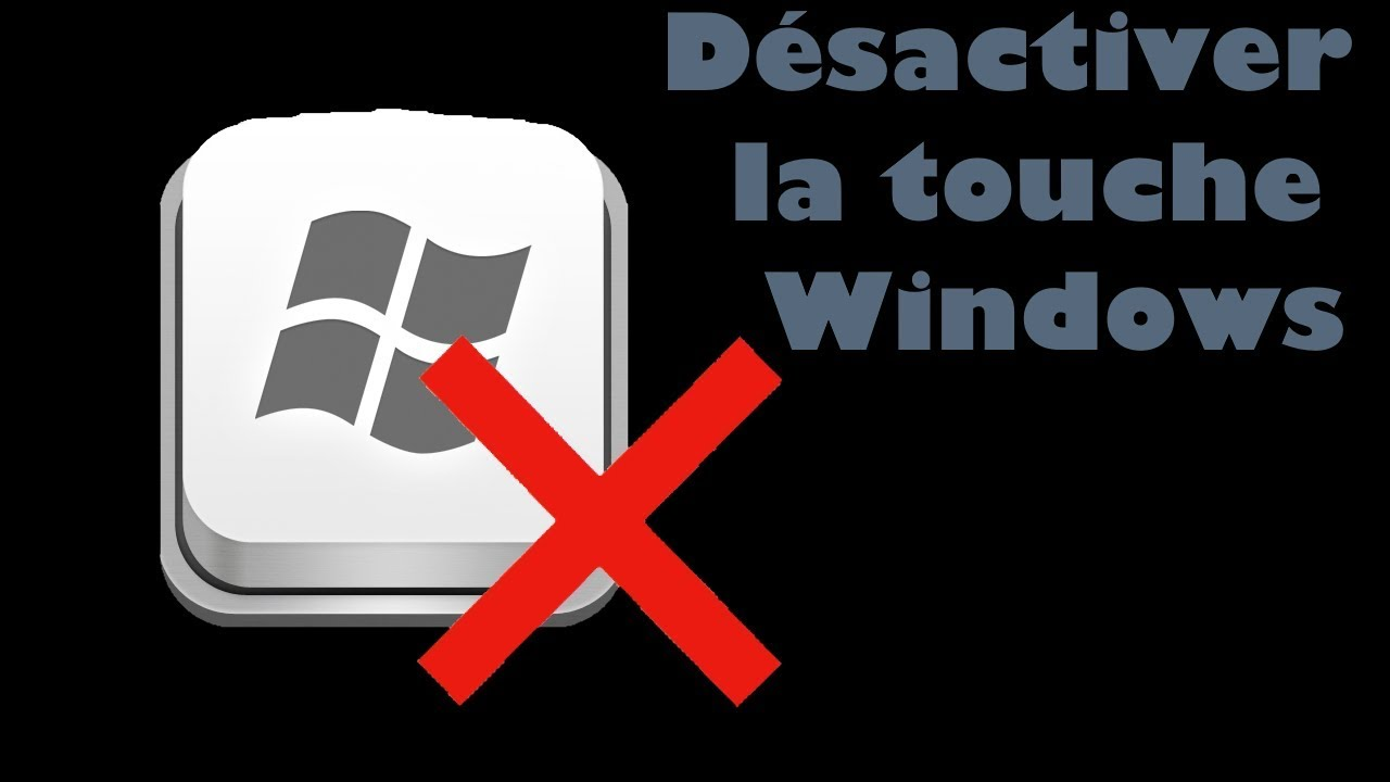 deshabilitar la tecla de Windows